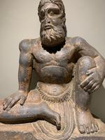 Fine Gandharan Crouching Atlas Figure (2nd-3rd Century AD) (2 of 4)
