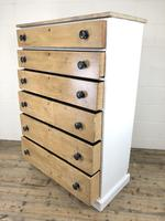 Victorian Pine Tall Chest of Drawers (9 of 9)