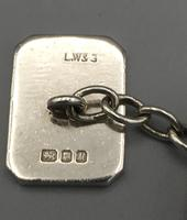 Silver Chain Link Cufflinks (4 of 5)