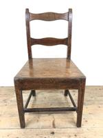 Set of Four 19th Century Oak Farmhouse Chairs (M-189) (14 of 17)