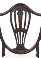 Georgian fine quality set of 8 mahogany dining chairs c.1800 (2 of 11)