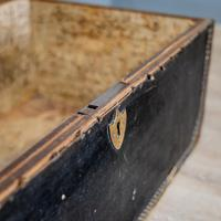 Victorian Leather & Brass Studded Trunk (10 of 14)