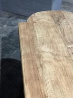Large Rustic French Bleached Oak Farmhouse Dining Table (27 of 40)