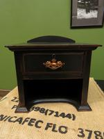 Small Black Antique Victorian Table Top Drawer for Jewellery 2 of 2 (6 of 10)