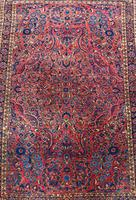 Fine Antique Saroukh Carpet / Rug (2 of 5)