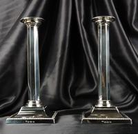 Fine Pair of Silver Candlesticks (11 of 12)