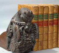 Good Pair of 18th Century Indian Carved Horse Head Bookends (7 of 9)