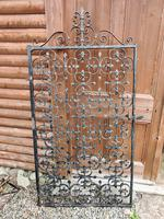 Large Iron Garden Gate (2 of 7)