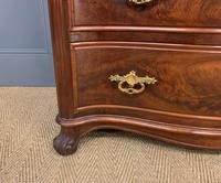 19th Century French Flame Mahogany Commode (12 of 20)