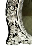 """Antique Victorian Sterling Silver 9"""" Photo Frame 1898 (6 of 11)"""
