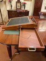 Mid 19th Century Mahogany Writing Box (5 of 7)