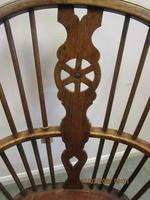 19th Century Wheel-back Windsor Chair (3 of 6)