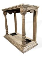 Stick and Brolly Oak Hall Stand (4 of 7)