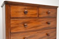 Antique Victorian Mahogany Chest of Drawers (6 of 8)