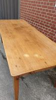 French Fruitwood Kitchen Dining Table (12 of 15)