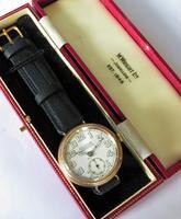 Gents 9ct Gold Colonial Wrist Watch, John Elkan (3 of 7)