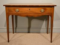 Late 18th Century Mahogany Side Table
