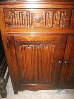 Two Drawer Linenfold Dutch Dresser (3 of 3)