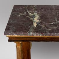 A Regency Console Table with Marble Top (3 of 4)