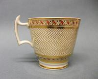Staffordshire London Shape Coffee Cup & Saucer c.1815-1820 (2 of 6)