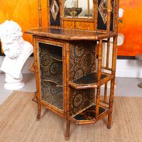 Bamboo Chiffonier Aesthetic Anglo Japanese 19th Century Lacquer (3 of 17)