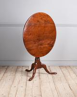 18th Century Yew Wood Tripod Table