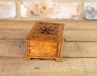 Carved Trinket Box 1930's (3 of 6)