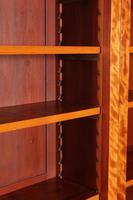 Large Triple Satinwood Open Bookcase (2 of 7)