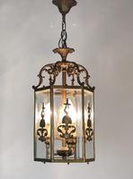 Antique French Gilt Bronze Lantern (6 of 13)
