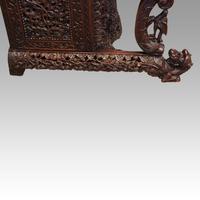 Antique Burmese Davenport (5 of 13)