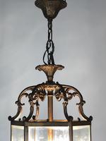 Antique French Gilt Bronze Lantern (10 of 13)