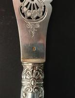 19 Century French Silver Fish Serving Cutlery (7 of 8)