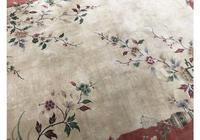 Antique Chinese Art Deco Carpet (6 of 12)