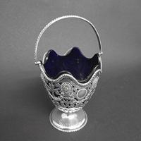 Victorian Silver Sugar Basket (2 of 4)