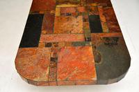 Large Swedish Stone Vintage Coffee Table (8 of 11)