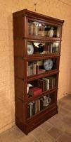 Bookcase from Globe Wernicke Called Stacking Bookcase in Mahogany-5 Elements (5 of 10)