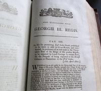 Collection of 109 Government Acts Passed in the Forty First Year of The Reign of His Majesty King George III (4 of 7)