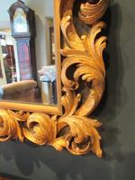 Fine Early Victorian Antique Timber Gilt Mirror (5 of 7)