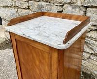 Antique Victorian Satinwood Bedside Pot Cupboard (6 of 16)
