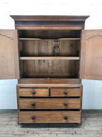 Antique 19th Century Welsh Oak Press Cupboard (4 of 14)