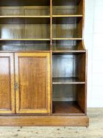 Large 19th Century Antique Oak Bookcase (4 of 11)