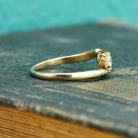 The Antique Old European Cut Diamond Toi Et Moi Ring (3 of 6)