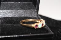 9ct Gold & Ruby Ring, size S, weighing 2.2g (4 of 5)