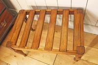 Victorian Luggage Rack, Suitcase Stand (5 of 10)