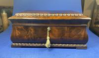 William IV Flame Mahogany Jewellery Box (18 of 20)