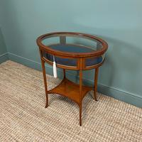 Stunning Victorian Satinwood Bijouterie Jewellery Table (5 of 6)
