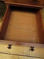 Antique Satin Birch Pedestal Desk by Heal & Sons (15 of 21)