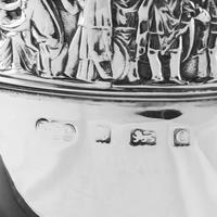 Antique Solid Silver Goblet / Cup with Roman Frieze - Elkington & Co 1902 (16 of 16)