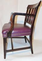 Scottish Georgian Mahogany Elbow Chair (5 of 6)