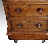 Victorian Oak Partners Desk (11 of 12)